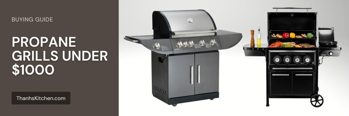 BEST propane grill under $1000
