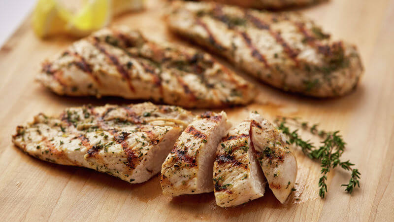 perfect grilled chicken breast
